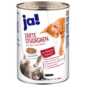JA! Katze Rind, 415g