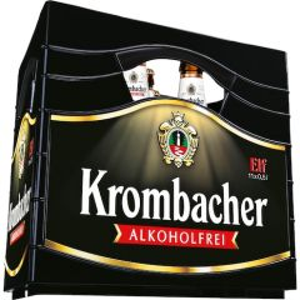 Krombacher 0,0% Pils alkoholfrei, 11x0,5l