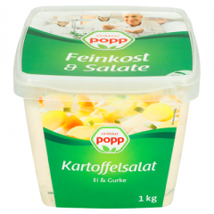Popp Pellkartoffelsalat mit Ei & Gurke, 1kg