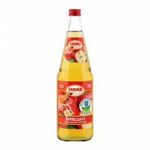 Fahner Apfelsaft klar, 6x1l