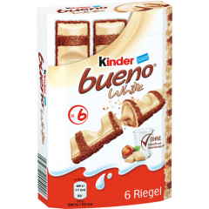 Ferrero Kinder bueno white, 6 Stück, 117g