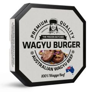The Frozen Butcher Wagyu Burger, 2x125g